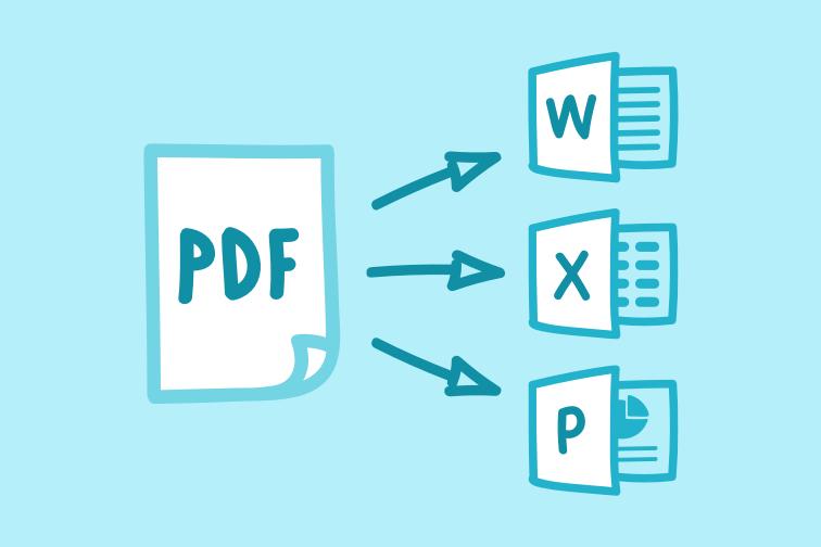 using a pdf converter